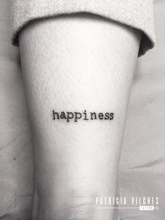 Happiness #tattoohappiness #tatuajefelicidad #happiness #felicidad