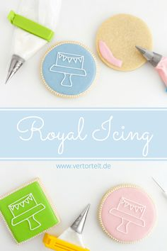 Royal Icing Grundlagen mit Rezept und praktischen Tipps Royal Icing basics with recipe and practical tips Easy Royal Icing Recipe, Royal Icing Cookies Recipe, Cookie Icing, Easy Smoothie Recipes, Easy Smoothies, Purple Drinks, Coconut Smoothie, Fondant, Shaped Cookie