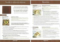 Tupperware - Feuille à rebords silicone - Rolls Parisiens - Millefeuille framboises pistaches - Roulés à la confiture