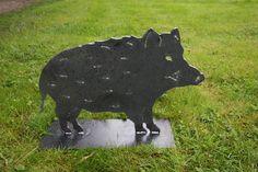 So eine Sauerei !  Wildschwein aus plasmagetrennten Stahl