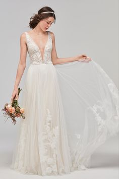 Willowby Philomena 59706 - The Blushing Bride boutique in Frisco, Texas