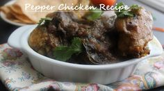 Chicken Sukka is dry dish made with fresh ground spices. Mangalore Chciken Sukka is popular Chicken recipe.Mangalore cuisine has special Chicken recipes. Recipes With Chicken And Peppers, Indian Chicken Recipes, Spicy Chicken Recipes, Chicken Recipes Video, Chicken Stuffed Peppers, Curry Recipes, Indian Food Recipes, Kerala Recipes, Pepper Chicken