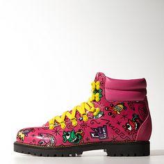 F You jeremy Scott!  image: adidas Jeremy Scott Face Hiking Boots M18988