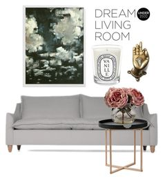 """""""sr #1"""" by h-nartschik ❤ liked on Polyvore featuring interior, interiors, interior design, home, home decor, interior decorating, .wireworks, Nearly Natural, Child Of Wild and Diptyque"""