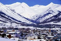 Crested Butte, Colorado- Got engaged there! Absolutely beautiful!
