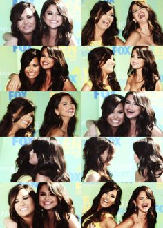 Demi Lovato and Selena Gomez ❀