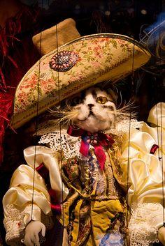 Venetian Puss in Boots Marionette