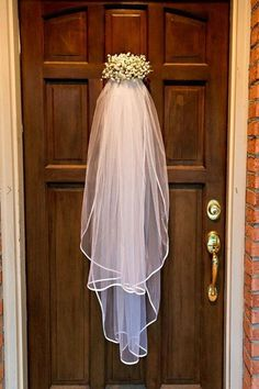 For the day we get married on our front door!