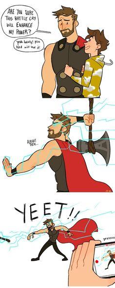 Avengers Humor, Marvel Jokes, Marvel Avengers, Funny Marvel Memes, Dc Memes, Marvel Fan, Marvel Dc Comics, Funny Comics, Funny Memes