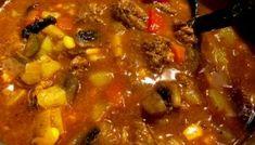 Węgierski kociołek - pyszna i pożywna zupa gulaszowa! Polish Recipes, Pot Roast, Soup Recipes, Smoothies, Curry, Food Porn, Food And Drink, Tasty, Snacks