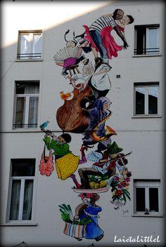 Art de la rue à Bruxelles // Brussels Belgium art street