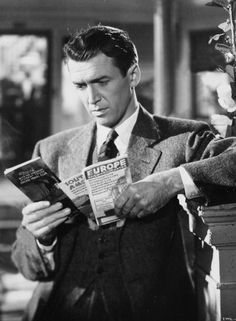 "Fictional Character with ENFP personality traits: George Bailey in ""It's a Wonderful Life"" Old Hollywood Stars, Hollywood Actor, Classic Hollywood, Wonderful Life Movie, The Donna Reed Show, Tv Moms, Frank Capra, Men Are Men, Soli Deo Gloria"