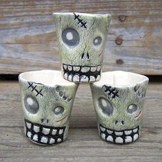 Zombie Shot Glasses