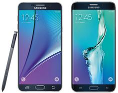 Render Image of #Samsung #GalaxyNote5 and #GalaxyS6edgePlus Appeared on the Web