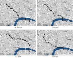 Crowdsourced Data Reveals Most Beautiful Urban Walking Routes- Web Urbanist