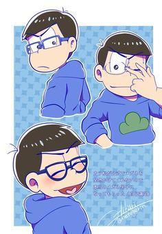 Glasses are cute too Japanese S, Laughing And Crying, Ichimatsu, Anime Characters, Fictional Characters, Game Character, Me Me Me Anime, My Hero Academia, Haikyuu
