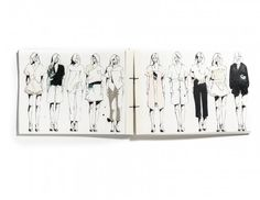 Fashion Sketchbook - fashion design sketches; fashion portfolio // Pitzy Villagomez Ortega