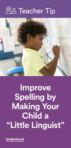 """When a child struggles with spelling a word, the classic advice is """"sound it out."""" Unfortunately, this doesn't always work. That's why it's important for kids to learn spelling by understanding meaning, too."""