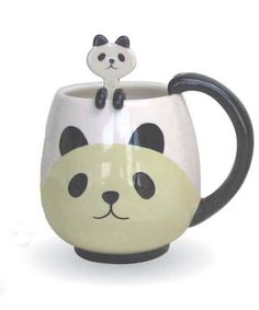 This mug is really cute. I keep seeing it on J-List and I always say to myself that I am going to pick it up, but I never do.