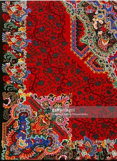 """World's Fair of 1876 : """"Smyrna"""" Carpet illustrated in Charles Norton, Treasures of Art, Industry and Manufacture, Getty Images. Art Industry, Ancient Greek Words, Exhibition Building, Architectural Antiques, World's Fair, French Artists, Philadelphia, City Photo, Carpet"""