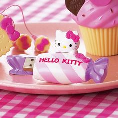 cute flash drive - relation the sign the says flash on the wall #hellokitty