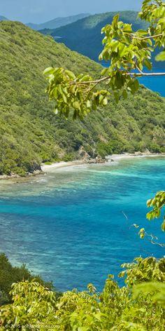 Mennebeck Bay, St John, US Virgin Islands National Park.