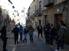Visita guiada a Sigüenza Medieval con la Oficina Municipal de Turismo. http://lasalamandrasiguenza.wordpress.com/2013/10/18/i-encuentro-de-centros-jovenes-de-alovera-y-la-salamandra-de-siguenza/