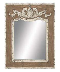 Look what I found on #zulily! Brown & Cream Antiqued Mirror $149     Great items being offered for sale exclusively on Zulily.  Access is restricted to members only so I'm sending you an invitation to join.  They have new things every day—it's like a treasure chest of cute stuff.  Membership is free and I think you'll really like it. Invite friends and get $15  for each referral once your friend makes their 1st purchase. http://www.zulily.com/invite/pmiller9177