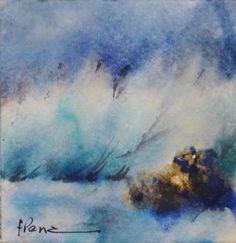 """Wave and rocks"" by Fernando Pena"