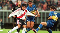 Javier Saviola. River Plate vs. Boca Juniors.