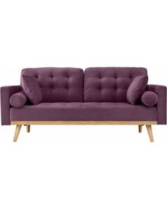 beaumont sofa bjs sofas usados a venda sao joao de meriti rj 963 best well furnished house is home images living room this deal going fast modern mid century 2 seater tufted velvet with wooden legs purple for 199 99