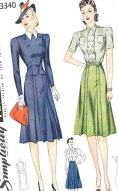 Simplicity 3340 #vintage #sewing