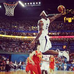 LeBron Dunk. Dunk. Best dunks on Pinterest. Slam dunk photos.