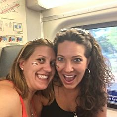 Riding the train to Giants games