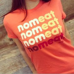 Feliz con mi alimentación vegetariana, vida, salud y belleza / NO MEAT = NOM EATS! If there's one universal truth about all vegans, it's that we love to eat!