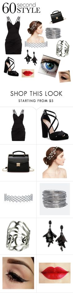 """Can't rush perfection"" by kitsune-6665 ❤ liked on Polyvore featuring Nina, Jennifer Behr, Avenue, Oscar de la Renta, 60secondstyle and PVShareYourStyle"