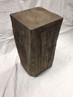 $79, Rustic Block Stool F13 Stool, Chair, Wood Table, Rustic Furniture, Home Decor, Recliner, Country Furniture, Homemade Home Decor, Stools