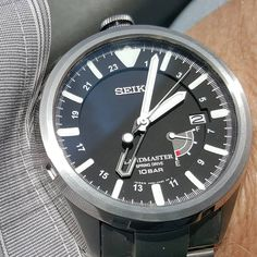 Watch of the Day Seiko Landmaster Spring Drive GMT from November Seiko, November 2013, Mechanical Watch, Automatic Watch, Men's Style, Omega Watch, Watches For Men, Random Stuff