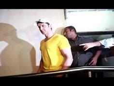 Hrithik Roshan watched Ajay Devgan's SHIVAAY movie late night at Juhu PVR.