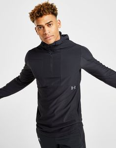 Shop Under Armour Vanish 1/2 Zip Hoodie from our Under Armour range online now at JD Sports ✓Buy Now, Pay Later ✓Free Delivery over £70 ✓10% Student Discount Under Armour, Jd Sports, Color Negra, Sport Fashion, Zip Hoodie, Hoodies, Jackets, Shopping, Black