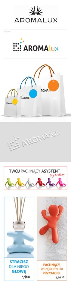 Aromalux by Ola Grzeganek, via Behance