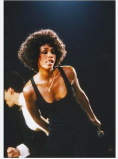 Whitney in concert No one interpreted a song as well as she did She made each lyrics her own.