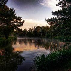 Dawn over the fishing lakes 2968 X 2968 Check this blog!