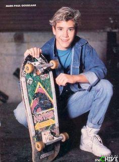 style Mark Paul Gosselaar: Champion Of 90 - Neon Nikes, 80s Fashion Men, Retro Fashion, Teen Boys, Girls, Decade Day, Mark Paul Gosselaar, Zack Morris, Nike Free