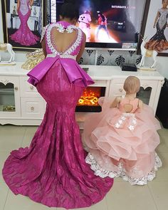 styles for stylish ladies - Stylish Naija African Bridesmaid Dresses, African Dresses For Kids, African Wear Dresses, African Fashion Ankara, Latest African Fashion Dresses, African Print Fashion, African Attire, African Outfits, African Girl