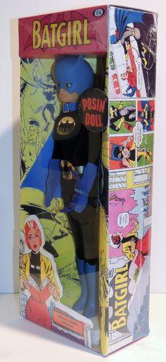 1967 Ideal Batgirl Super Queen Doll 1966 Batman Captain Action Counterpart | eBay