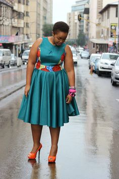 Blue and orange African wear African Dress Patterns, African Print Dress Designs, African Dresses For Kids, African Fashion Ankara, Latest African Fashion Dresses, African Dresses For Women, African Print Fashion, Africa Fashion, African Attire