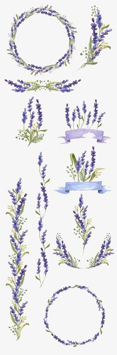 Hand-painted flowers, Flower, Watercolor, Purple PNG and PSD Watercolor Flowers, Watercolour Painting, Painting & Drawing, Watercolor Cards, Perfect Image, Love Photos, Cool Pictures, Bullet Journal Inspiration, Gratis Png
