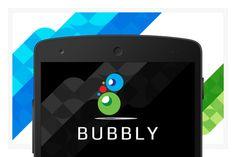 Bubbly EPS vector logo design by FineOrigins on @creativemarket