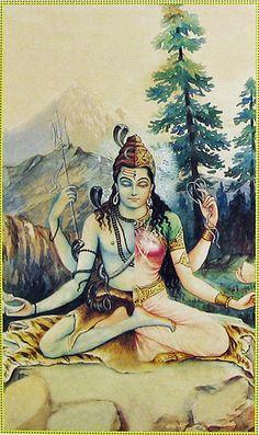 Ardhanarishwarar -- Shiva & Sakthi fused